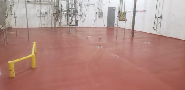 dairy ucrete flooring